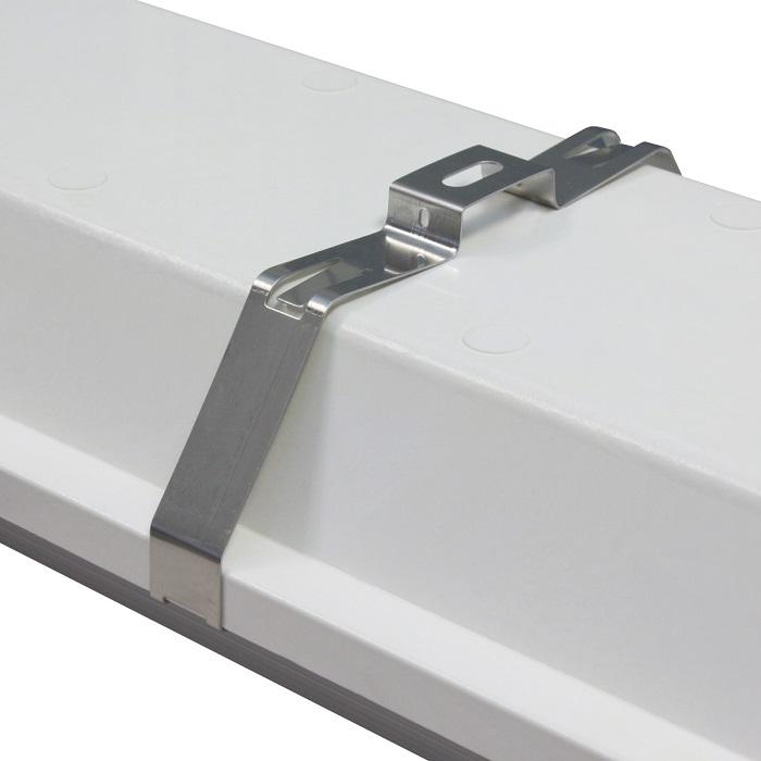 Wet Location / Vapor Tight Overhead LED Fixture Bracket