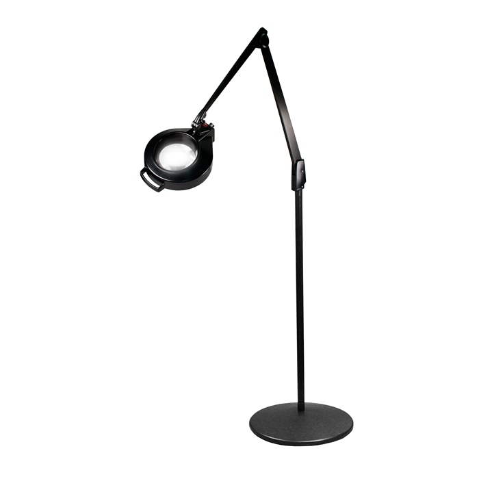 Dazor led circline pedestal floor stand magnifier lamp 42 in