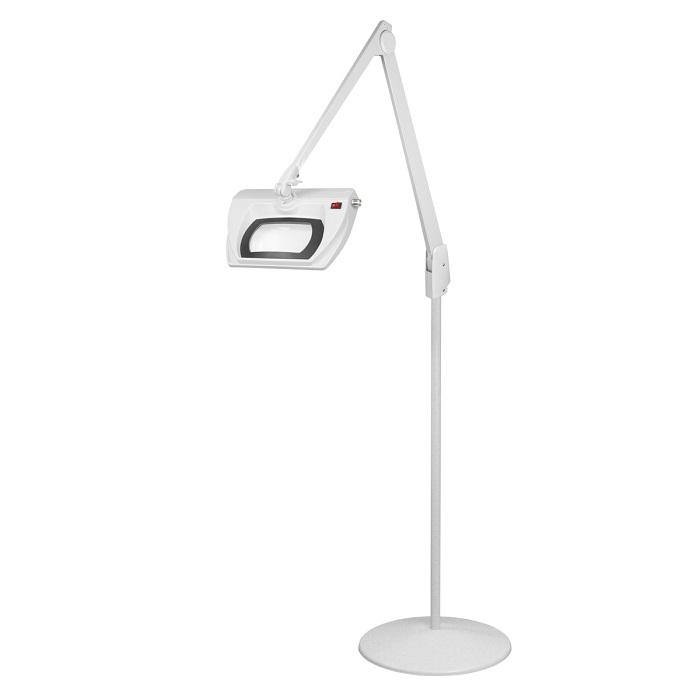 led stretchview pedestal floor stand magnifier lamp 42 in lmr730. Black Bedroom Furniture Sets. Home Design Ideas