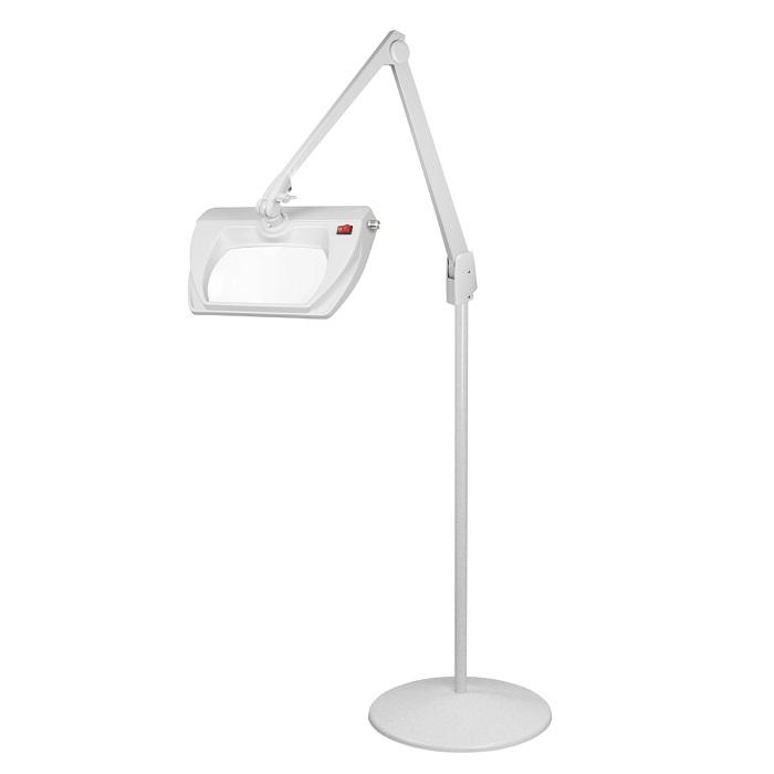 Dazor Led Stretchview Pedestal Floor Stand Magnifier