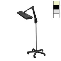 Dazor Fluorescent 30w Mobile Floor Stand Light 33 In 2724m