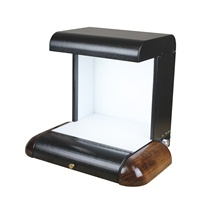 Spectrowave Cabinet Black with Mahogany Side Pads