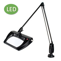 "LED Stretchview Clamp Base Magnifier (43"") ESD-Safe"