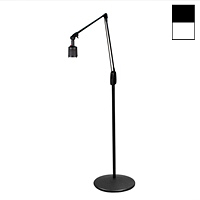 "Halogen 20W Pedestal Floor Stand Light (38"")"