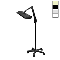 "Fluorescent 30W Mobile Floor Stand Light (33"")"