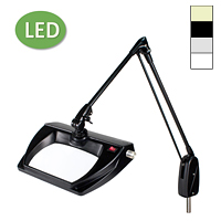 "LED Stretchview Pivot Base Magnifier (33"")"
