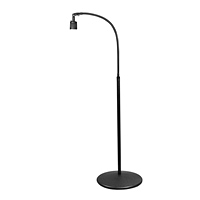 "Halogen 20W Pedestal Floor Stand Light (38"")"
