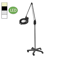 "LED Circline Mobile Floor Stand Magnifier (43"")"