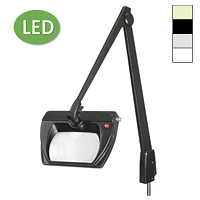 "LED Stretchview Pivot Base Magnifier (42"")"