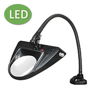 "LED Hi-Lighting Clamp Base Magnifier (30"") ESD-Safe"