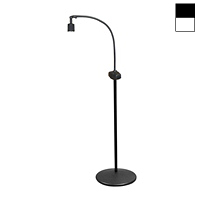 "Halogen 20W Dimmable Pedestal Mobile Stand Light (38"")"