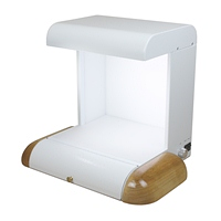 Spectrowave Cabinet White with Natural Side Pads