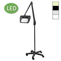 "LED Stretchview Mobile Floor Stand Magnifier (42"")"