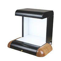 Spectrowave Cabinet Black with Natural Side Pads