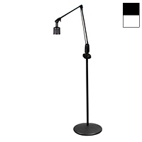 "Halogen 20W Dimmable Pedestal Floor Stand Light (38"")"