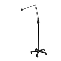 "Saturn LED Mobile Floor Stand Light (38"")"