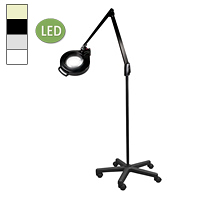"LED Circline Mobile Floor Stand Magnifier (41"")"