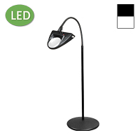 "LED Hi-Lighting Pedestal Floor Stand Magnifier (30"")"