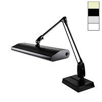 "Fluorescent 30W Desk Base Task Light (33"")"