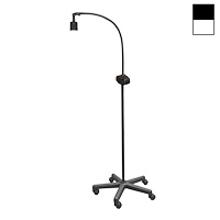 "Halogen 20W Dimmable Mobile Floor Stand Light (38"")"