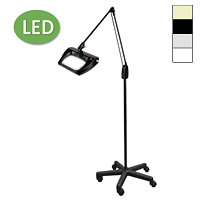 "LED Stretchview Mobile Floor Stand Magnifier (43"")"