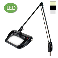 "LED Stretchview Pivot Base Magnifier (43"")"