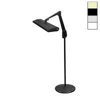 "Fluorescent 30W Pedestal Floor Stand Light (33"")"