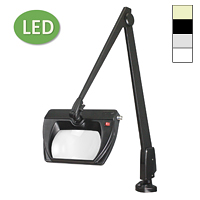 "LED Stretchview Clamp Base Magnifier (42"")"