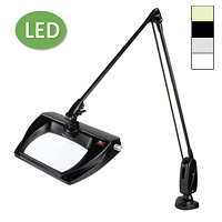 "LED Stretchview Clamp Base Magnifier (43"")"