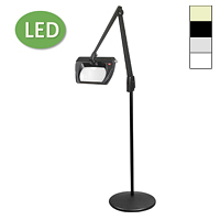 "LED Stretchview Pedestal Floor Stand Magnifier (42"")"