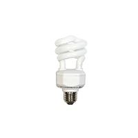 15W Compact Fluorescent CFL Bulb (Full Spectrum)