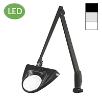 "LED Hi-Lighting Clamp Base Magnifier (42"")"