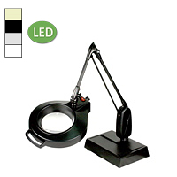 "LED Circline Desk Base Magnifier (33"")"